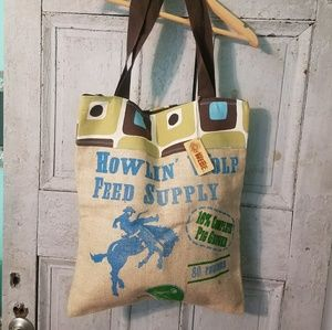 Handbags - 🌟SALE🌟New WEBE feed sack eco-friendly bag